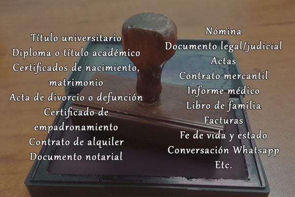 Traducción jurada. Traducción oficial. Traducción certificada.