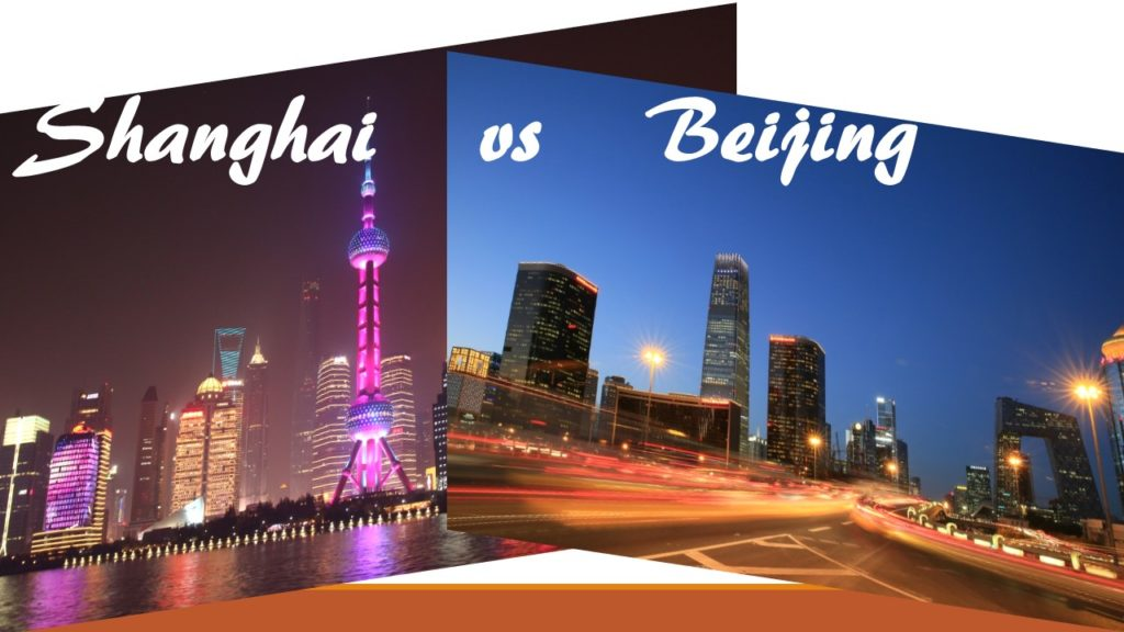 ¿Voy a Pekín o a Shanghái?