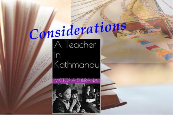 Why you should read 'A teacher in Kathmandu'